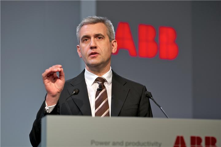 Ulrich Spiesshofer, ABB head of the Discrete Automation and Motion division_presentation