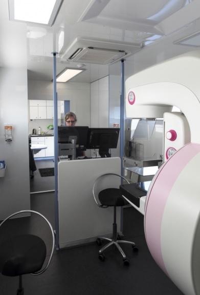 Kontajner s mamografom