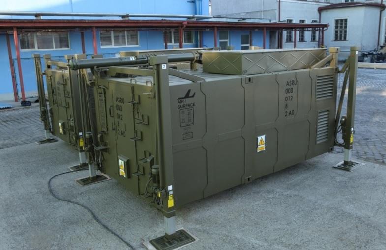 Kontajnery pre mobilný komunikačný systém