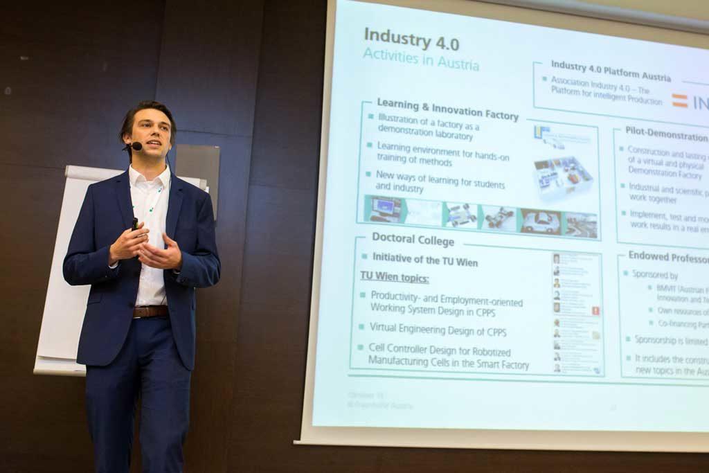 Philipp Hold, priemyselný inžinier z rakúskeho Fraunhofer Austria