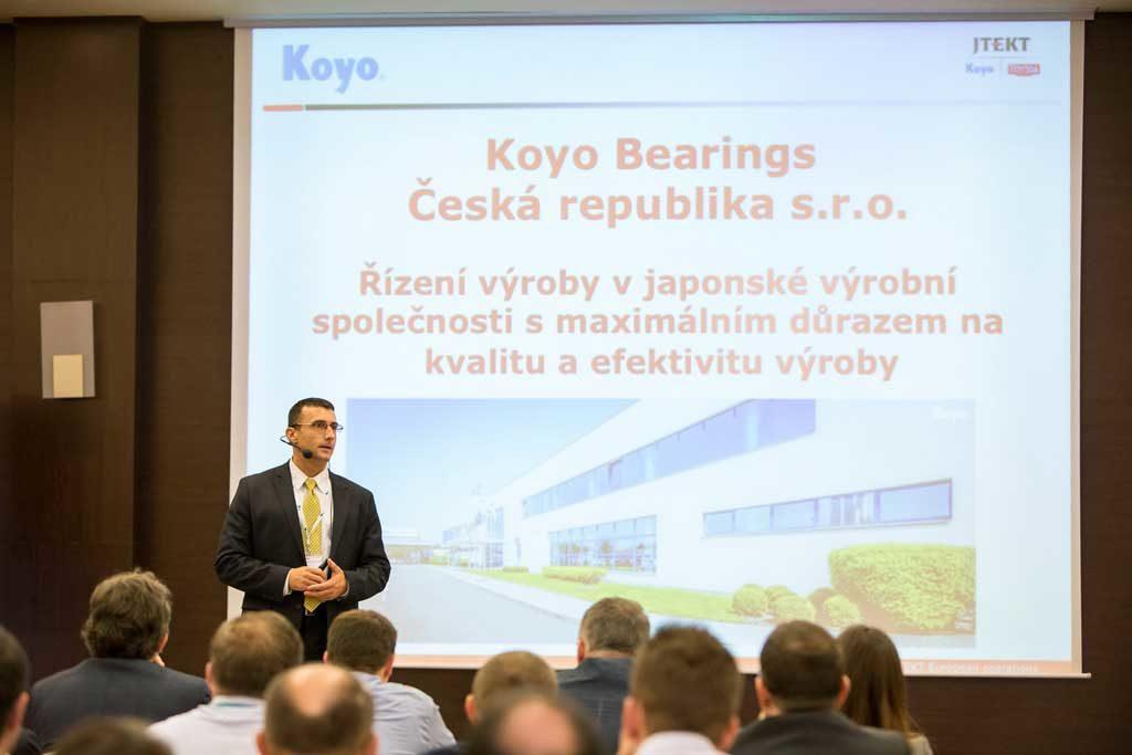 Petr Novák, prezident spoločnosti Koyo Bearings Česká republika