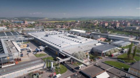 Dnešné slávnostné otvorenie výrobnej haly bolo za účasti najvyššieho vedenia koncernu Continental