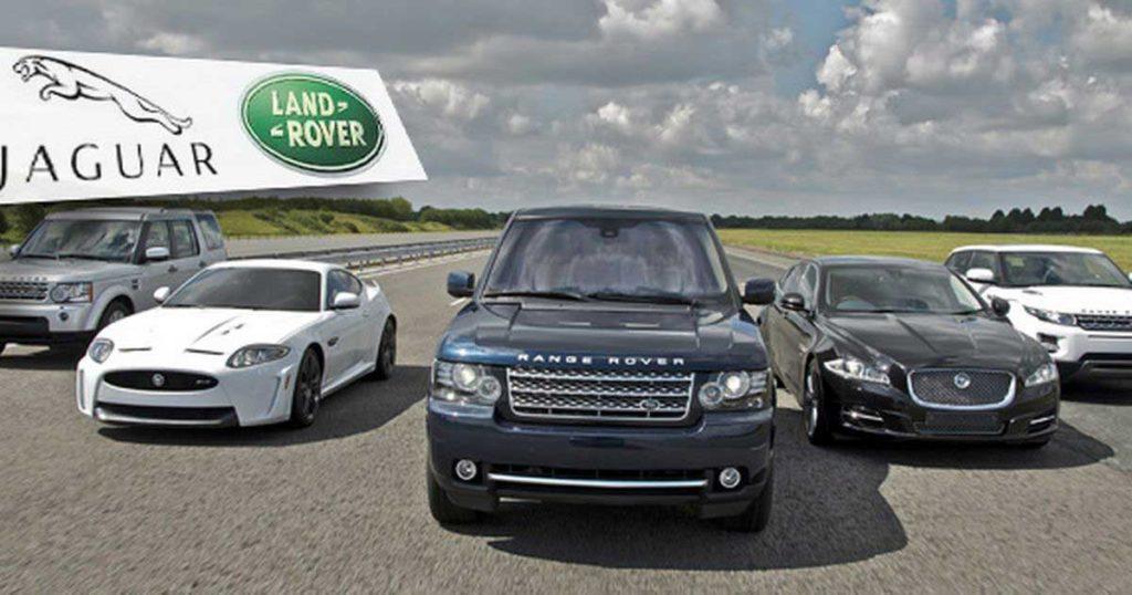 Jaguar Landrover automobily