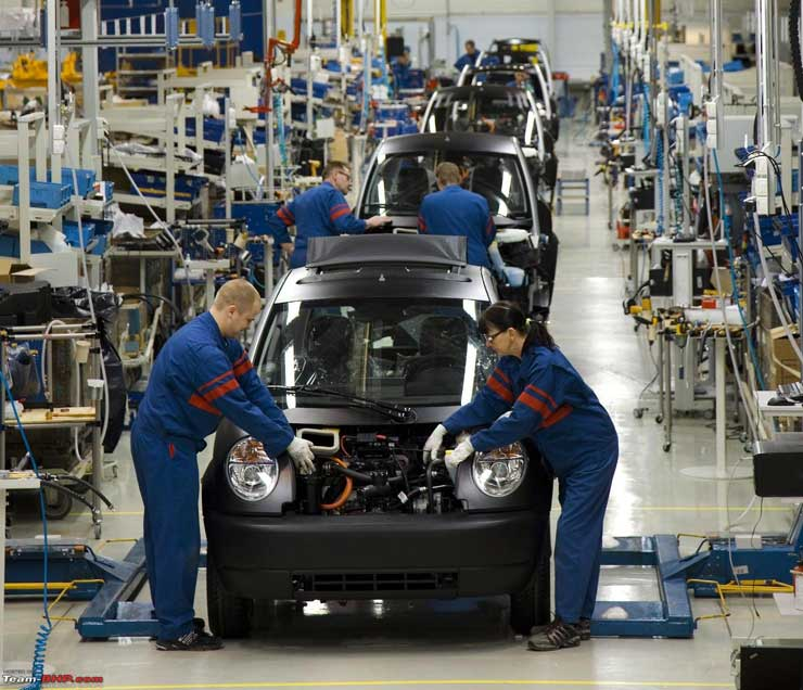 Výrobná linka automotive
