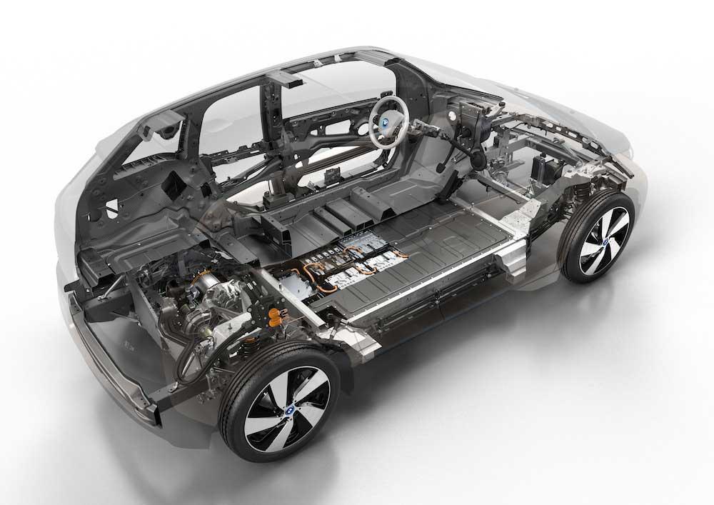 Nový elektromobil BMW i3