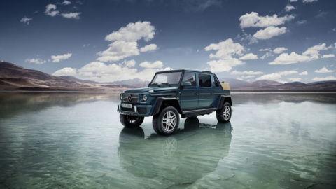 Mercedes-Maybach G 650 Landaulet: luxus pod holým nebom