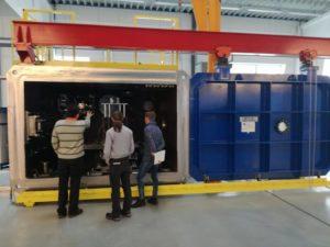 Zváracie zariadenie pre zváranie elektrónovým lúčom