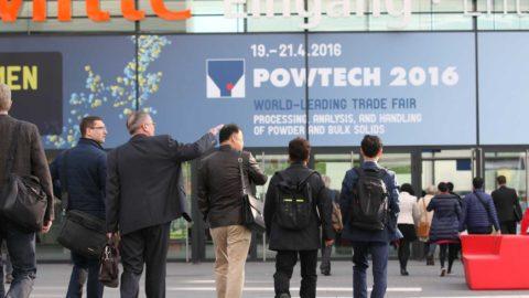 POWTECH 2017: Centrum mechanických technológií spracovania