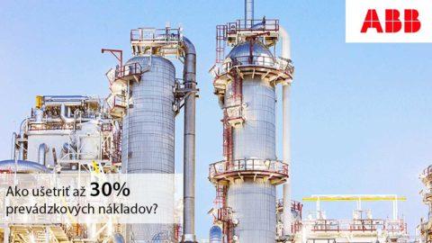 ABB Ability™ v znamení úspor: Možnosti pre vodárenské spoločnosti