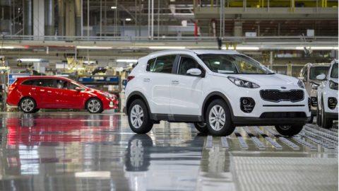 Kia Motors Slovakia vyrobila v prvom polroku 180 800 vozidiel
