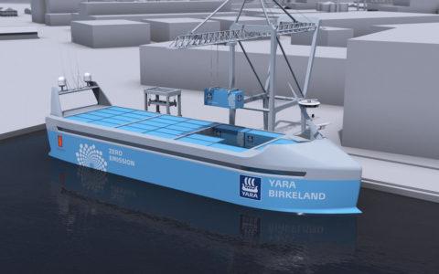 Nórsko vedie preteky ovybudovanie autonómnych nákladných lodí