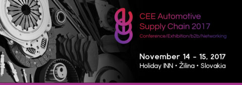 CEE Automotive Supply Chain 2017 – odborné automotive podujatie