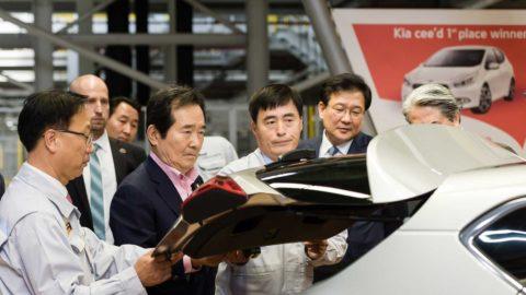 Predseda Národného zhromaždenia Kórejskej republiky navštívil závod Kia Motors Slovakia