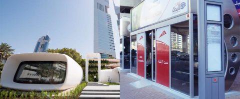 Dubaj môže čoskoro začať s3D-tlačou mostov aautobusových zastávok