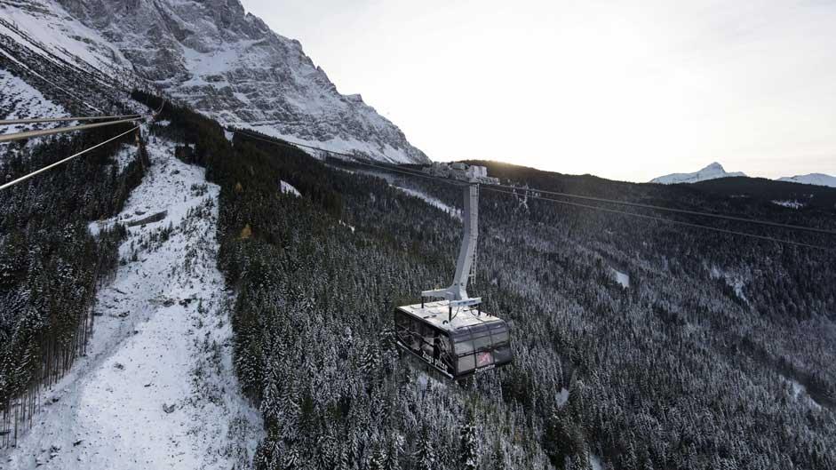 ABB lanovka na Zugspitze