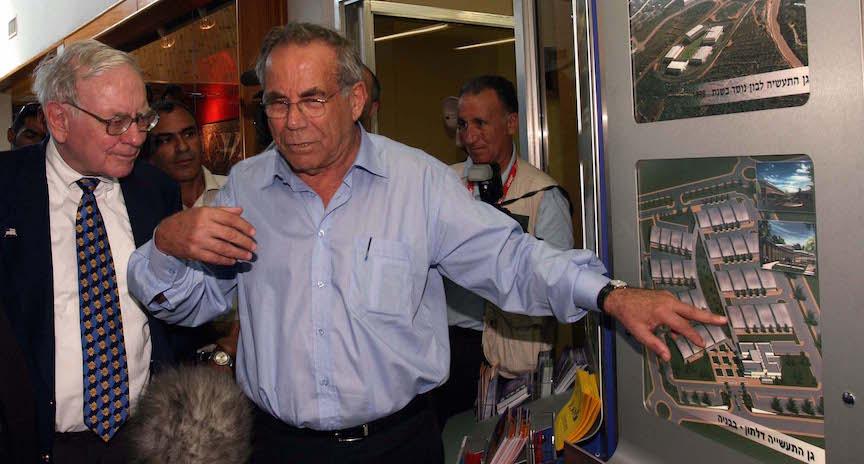 Generálny riaditeľ ISCAR - Stef Wertheimer