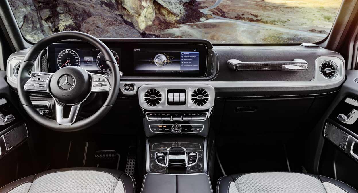 Nový Mercedes-Benz Triedy G