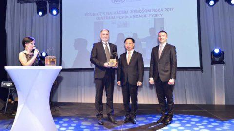 Nadácia Kia Motors Slovakia odovzdávala večer 17. 1. ocenenia za filantropiu