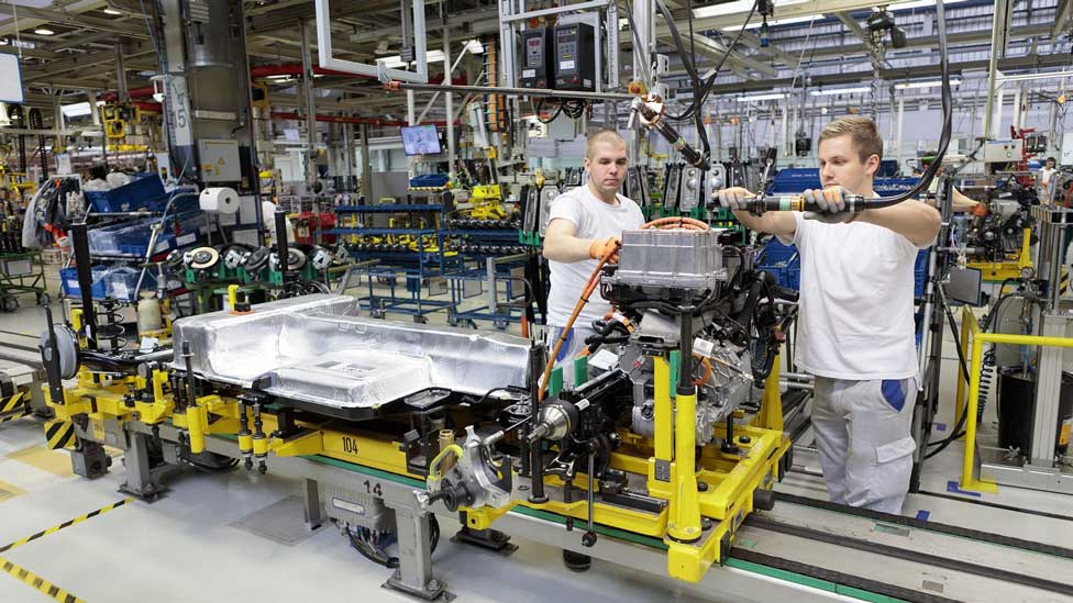 Volkswagen výroba