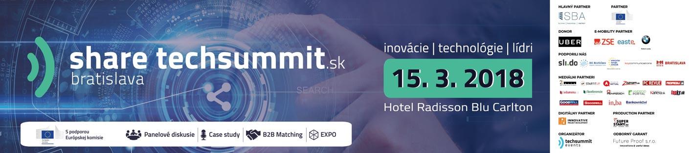 share.techsummit 2018 Bratislava