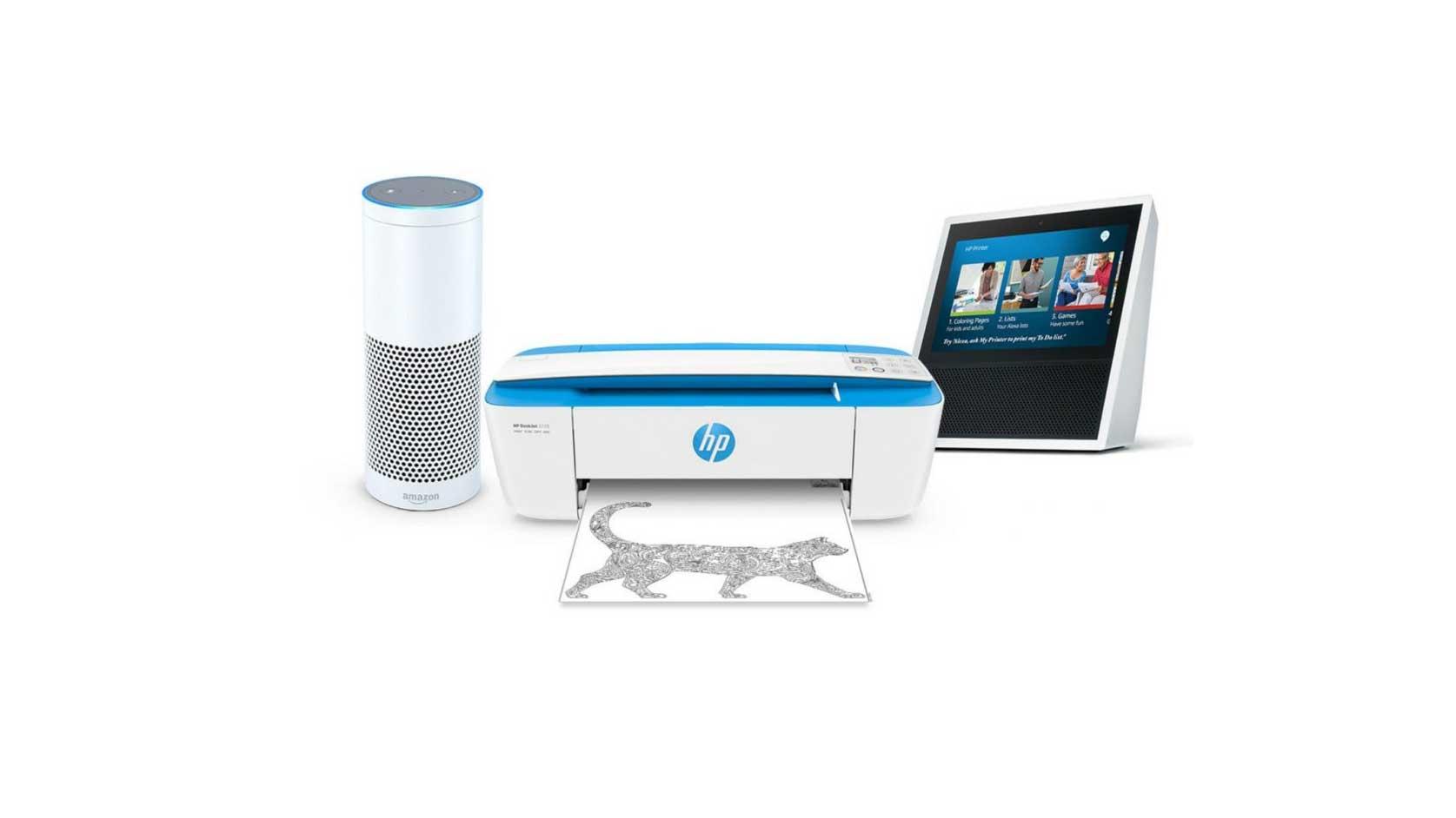 HP hlasový asistent