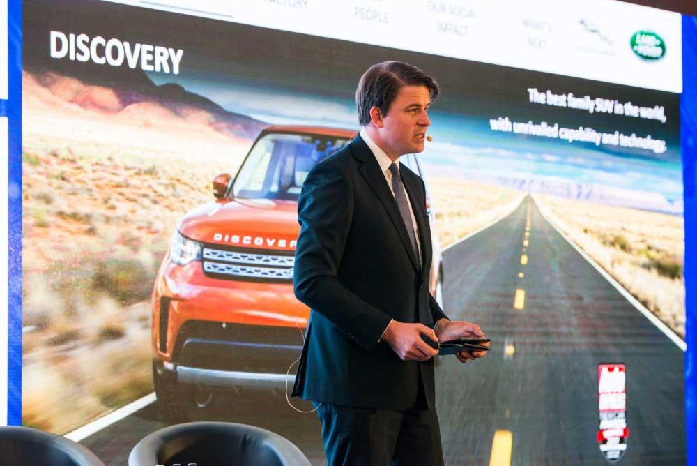 Alexander Wortberg, zástupca Jaguar Land Rover Slovakia