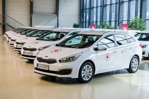 Slovenský Červený kríž dostane ďalších 17 vozidiel Kia cee'd pre zlepšenie mobility