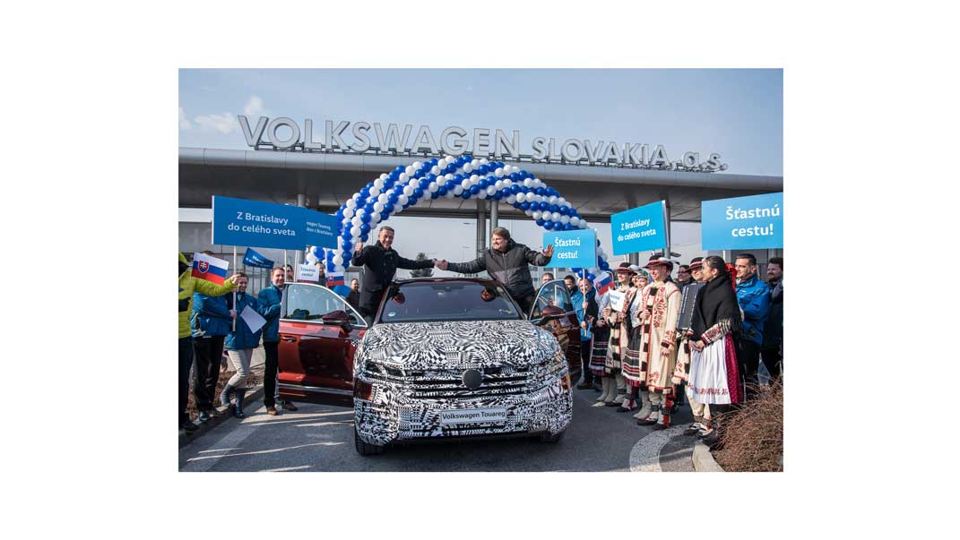 Nový Volkswagen Toareg