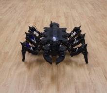 Tokyo Tech robot vtvare pavúka sa učí improvizovaním