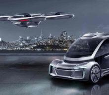Audi aAirbus spoločne pracujú na pasažierskom hybride medzi dronom aelektromobilom