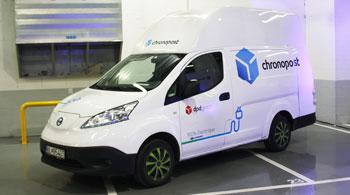 Francúzsky Chronopost kupuje 100 elektrických dodávok od spoločnosti Voltia