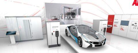 ABB v Hannoveri predstavila najrýchlejšiu nabíjaciu stanicu pre elektroautá