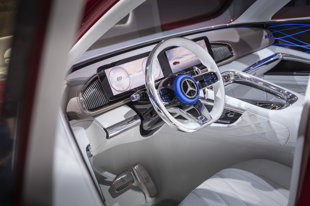 Premiérový Vision Mercedes-Maybach Ultimate Luxury