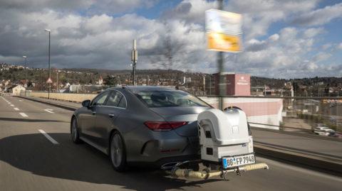 Dieselové motory Mercedes-Benz spĺňajúce limity emisií dusíka