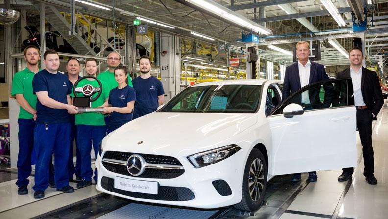 Triedu A už vyrába aj závod Mercedes-Benz v Maďarsku