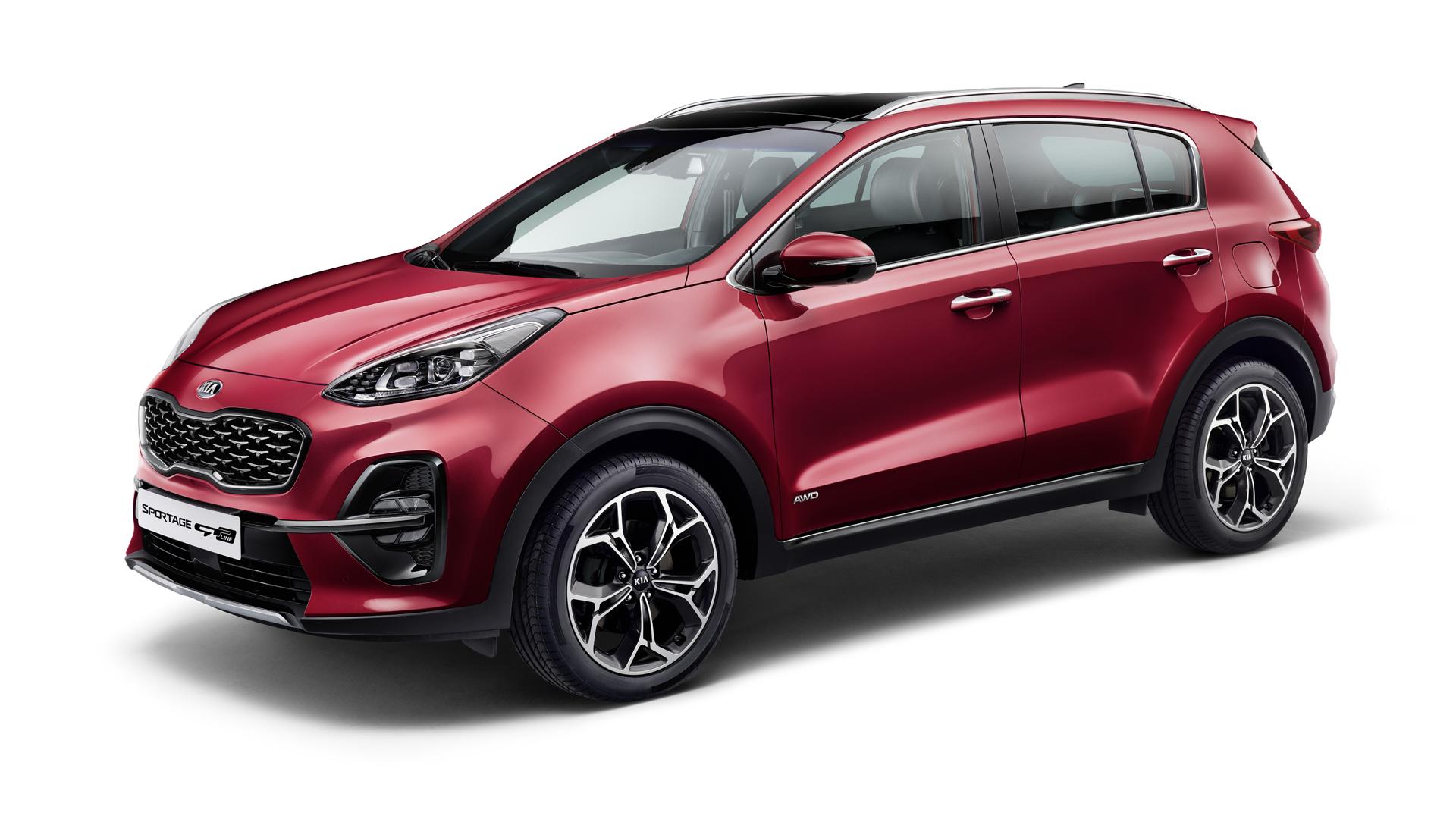 Vynovená Kia Sportage smild-hybridným vznetovým pohonom či novými technológiami
