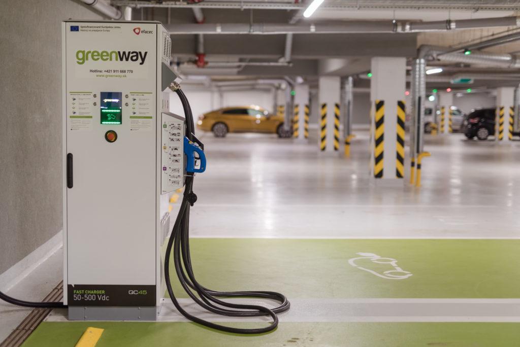GreenWay otvára v Prešove 2 nové nabíjacie stanice.