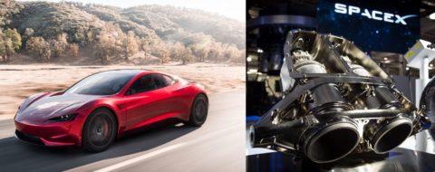 Elon Musk seriózne uvažuje opridaní trysk do Tesla Roadster