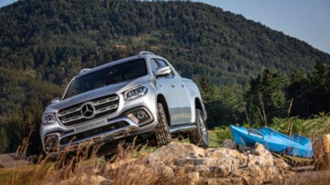 Výkonný pick-up Mercedes-Benz: Trieda X s motorom V6 a náhonom 4×4