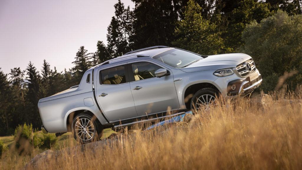 Výkonný pikap Mercedes-Benz: Trieda X s motorom V6 a náhonom 4x4