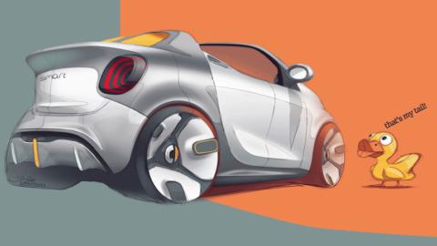 SMART forease je symbolom mestskej elektromobility
