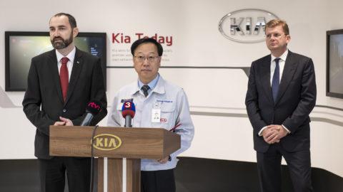 KIA diskutovala s ministrom o investíciach
