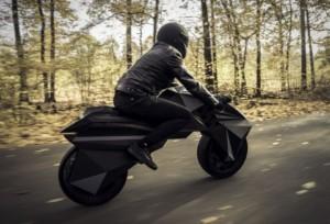 NERAbike 3D tlačený motocykel