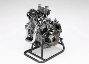 2020 Honda Africa Twin motor