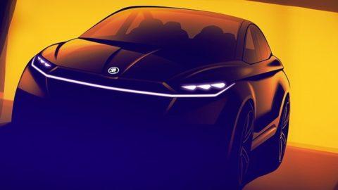 Škoda predstaví elektromobil Vision iV