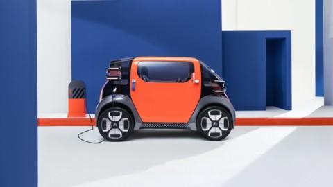 Citroën Ami One ako prototyp mestského elektromobilu