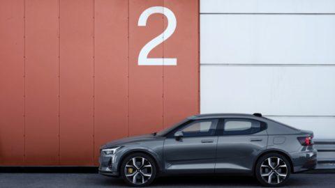 Volvo predstavilo elektrický sedan  Polestar 2