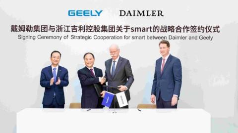 Daimler a Geely Holding zakladajú globálny podnik