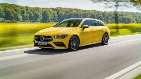 Prichádza nový Mercedes-AMG CLA 35 Shooting Brake
