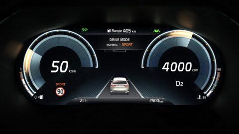 Kia XCeed vás očarí s prístrojovým panelom Supervision